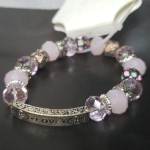 Croft & Barrow Love Bracelet